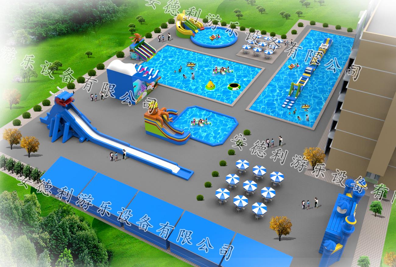 水上乐园效果图